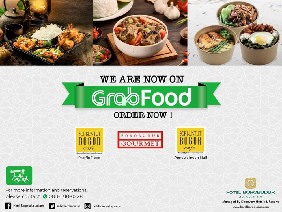 We Are Now On GrabFood