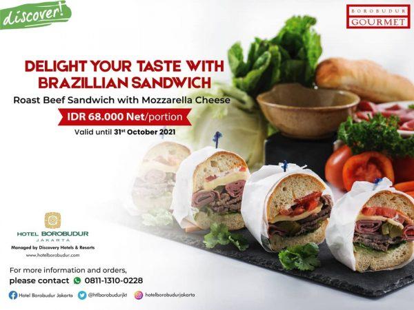 Delight Your Taste with Brazillian Sandwich