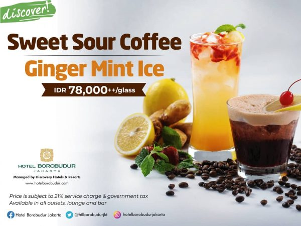 Sweet Sour Coffee Ginger Mint Ice